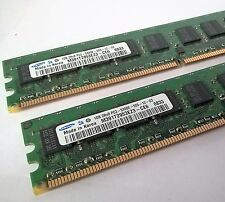 HP 2GB Kit (2x1GB) 2Rx8 PC2-5300E DDR2-667MHz ECC Workstation Memory 384705-051