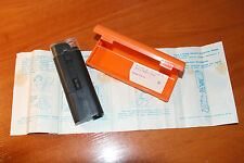 Old soviet 1992 MIKKO 30x pocket kids microscope with case and RU instructions