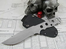Rob Patton Custom Hand Made  Skeleton Recurve Fighter ATS34 W/ Kydex Sheath