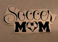 Auto Decal Soccer  Mom