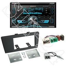 Kenwood DPX5000BT Autoradio + Volvo S60/V70 2-DIN Radioblende black +ISO Adapter