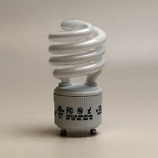 13W Fluorescent Light Bulb High Lumen Output GU24 Base CFL 2700K 60W Warm White