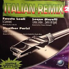 VARIOUS • Italian Remix 2 • Vinile 12 Mix • 1992 CGD