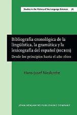 Bibliografía cronológica de la lingüística, la gramátic