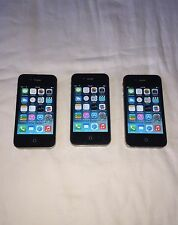 Lot of 3 - Apple iPhone 4 8GB Black (Verizon) -Free Shipping- A1349