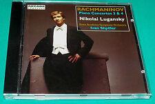 Rachmaninov # Piano Concertos 3 & 4 Nikolai Lugansky (Vanguard) CD