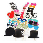 44pcs Photo Booth Props For Wedding Party Moustache Lips On A Stick Photobooth