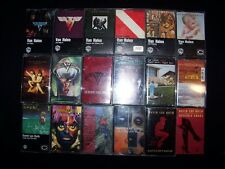 Cassette Van Halen & David Lee Roth 19 Heavy Metal lot tapes Single 1984 5150