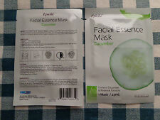 CUCUMBER Individual EPIELLE Facial Essence Masks  All Skin Types REFRESHING