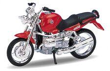 BMW R1100 R rot, Welly Motorrad Modell 1:18