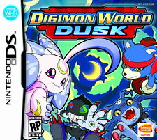 NINTENDO DIGIMON World DUSK GIOCO CARD Working with DS, DS Lite, DSi, 3DS