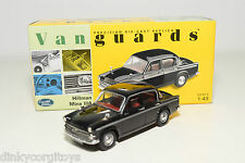 . VANGUARDS CORGI VA06804 HILLMAN MINX IIIA EMBASSY BLACK MINT BOXED