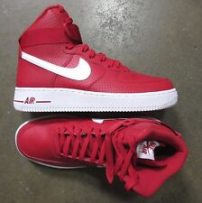 Nike Air Force 1 High Gym Red White size 8.5 (# 315121-606) -RETRO UPTOWN-