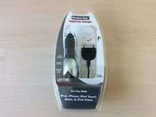 Wireless Gear Rapid Car Charger for iPod, iPhone, iPod Touch, Nano & Apple iPod