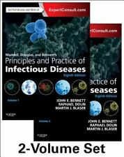 Principles and Practice of Infectious Diseases Set, Bennet Blaser 8th Ed. New!