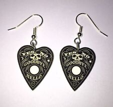 Planchette Earrings Ouija Charms