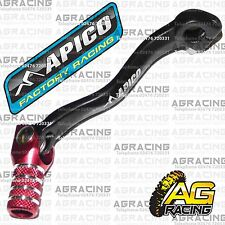 Apico Black Red Gear Pedal Lever Shifter For Honda CRF 250X 2007 MotoX Enduro