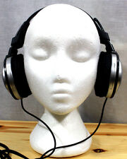 SONY MDR-D100 STEREO HEADPHONES VINTAGE WIRED DEEP BASS HEADBAND MUSIC Silver