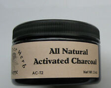Activated Charcoal Powder 2 oz. - Food Grade- Indigestion- The Elder Herb Shoppe