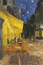 POSTER Terrasse de Cafe la Nuit Cafe Terrace at Night Vincent Van Gogh