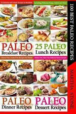 100 Best Paleo Recipes : A Combination of Four Great Paleo Recipes Books (4...