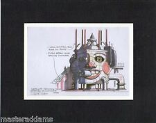 JOKER SATELLITE JAMMING DEVICE CONCEPT PROFESSIONAL MATTED PRINT Animated Batman