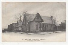 USA, St. Martin's Episcopal Church New Bedford, Mass. Postcard, US004