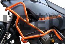 CRASH BARS HEED for KTM 990 Adventure (06-12) - orange