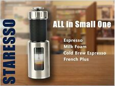 Staresso Coffee Maker with Espresso, Cappuccino, Quick Cold Brew All in One
