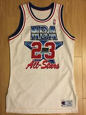Vintage 1992 Nba All Star Game Michael Jordan Authentic Jersey Size 40+2