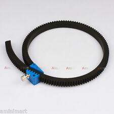 Adjustable Lens Gear Ring Belt for Movie Camera DSLR 5D2  60D Follow Focus Rig