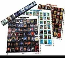 New Star Wars 30th Anniversary Poster Playing Card Proof Sheets Ltd 1976/1977