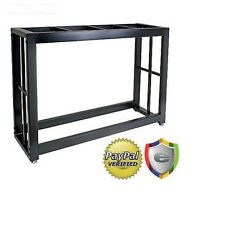 Aquarium Fish Tank Stand 55 Gallon Black Solid Steel Welded Easy to Assemble New