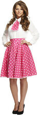 1950S FIFTIES ROCK AND ROLL SKIRT SKIRTS 50S FIFTIES FANCY DRESS  FITS 10-16