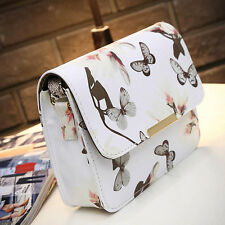 Women Handbag Shoulder Bag Messenger Hobo Bag Satchel Purse Tote Butterfly Print