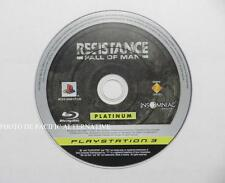 jeu seul RESISTANCE FALL OF MAN sur playstation 3 PS3 en francais loose spiel