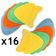 16 x Floor Covers Pads for VAX S5 S6 S6S S7 S7-A S7-A+ S7-AV Steam Cleaner Mop