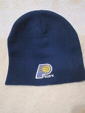 Indiana Pacers NBA Knit Beanie Blue winter hat Logo of team & Pepsi Double layer