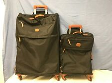 """Bric's Milano X-Bag 30"""" And 21"""" Spinner Black Preowned  *Please Read*"""