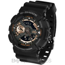 **NEW** CASIO G-SHOCK MENS ROSE GOLD SPORTS WATCH - GA-110RG-1A - RRP £135