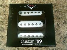 New Fender Custom Shop '69 Strat Stratocaster Electric Guitar Pickup Set
