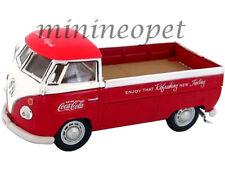 MOTOR CITY 440546 VW VOLKSWAGEN T1 PICK UP TRUCK COCA COLA COKE 1/43 RED