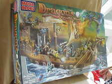 BOX ONLY for Mega Bloks  9895 Dragons  Krystal Wars Man-O-War Set