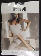 WOLFORD Velvet Lace Capri Black 17036 BRAND NEW in Original Packaging $52 Sz L