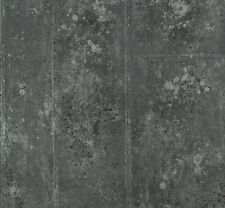 P.S Origin 42100-30 Tapete Vlies Beton Optik schwarz silber metallic (2,81€/1qm)