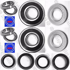 NSK REAR WHEEL BEARING W/ABS GEAR TOYOTA T100 TACOMA 4RUNNER RWD 2WD W/ABS PAIR