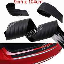 Black Door Sill Guard Car Body Bumper Protector Trim Cover Protective Strip SUV