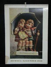 """Goebel Hummel Kalender Calendar 1959, Titel """"Unter einem Dach"""""""
