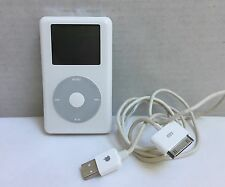 AS IS -- APPLE IPOD CLASSIC 4TH GEN 40GB A1059 M9268LL 3.1.1 WHITE