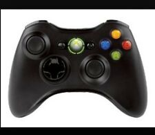 Genuine Microsoft Xbox 360 Controller - Black Wireless